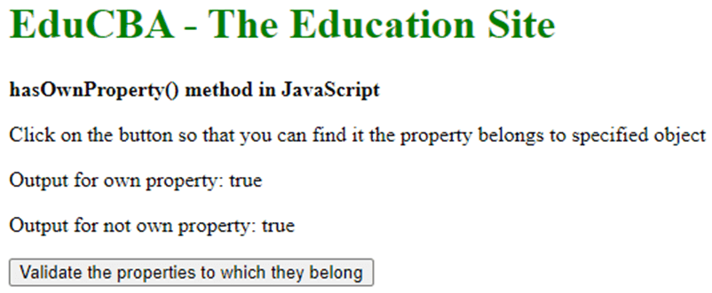 JavaScript hasOwnProperty()-1.4