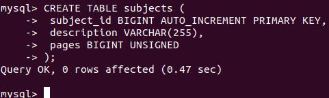 MySQL BigInt 2
