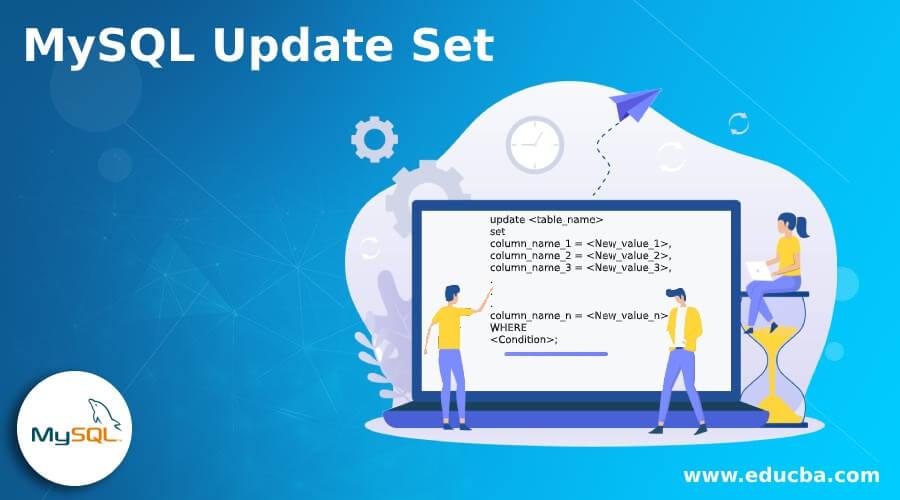 MySQL Update Set
