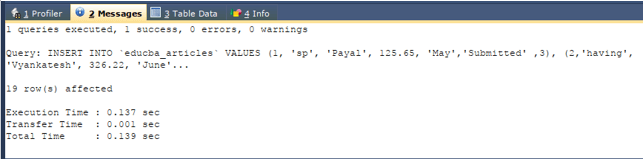 MySQL having 3