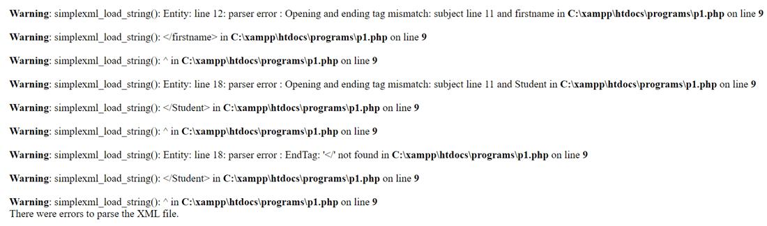 PHP XML into Array-1.2