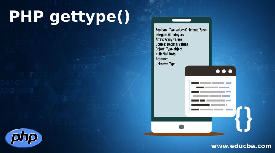 PHP gettype()