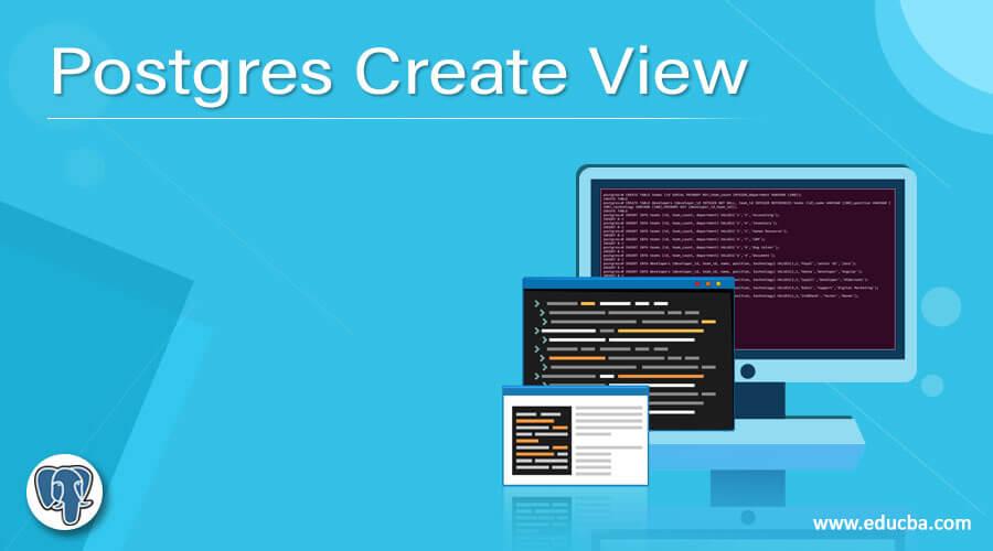 Postgres Create View