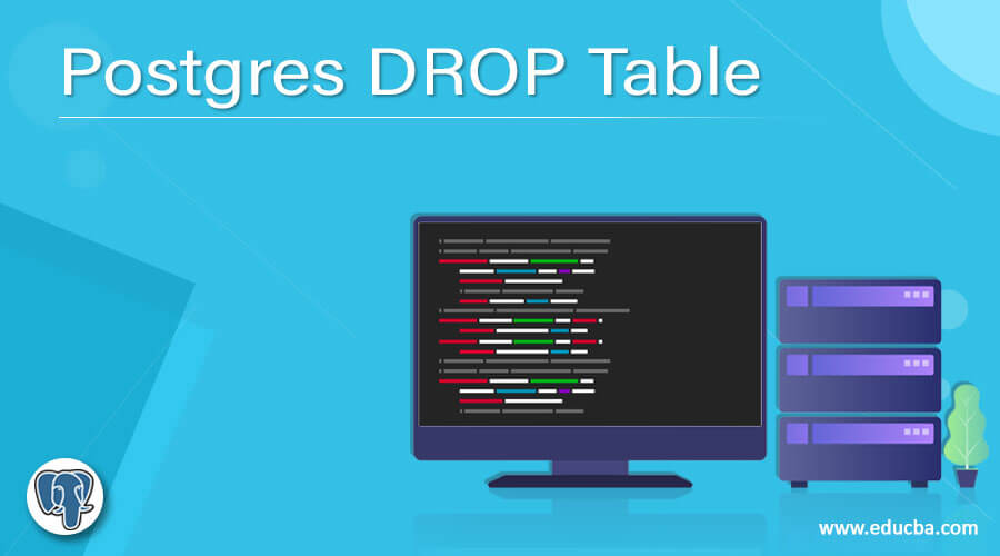 Postgres DROP Table