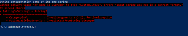 PowerShell SubString 4