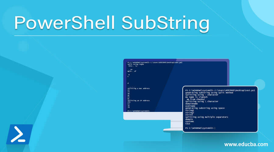 PowerShell SubString