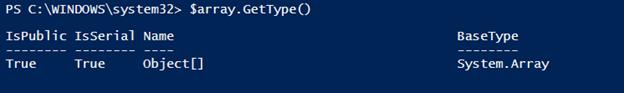 PowerShelljoin array output 4