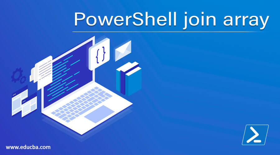 PowerShell join array