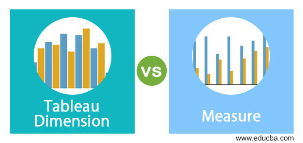 Tableau Dimension vs Measure