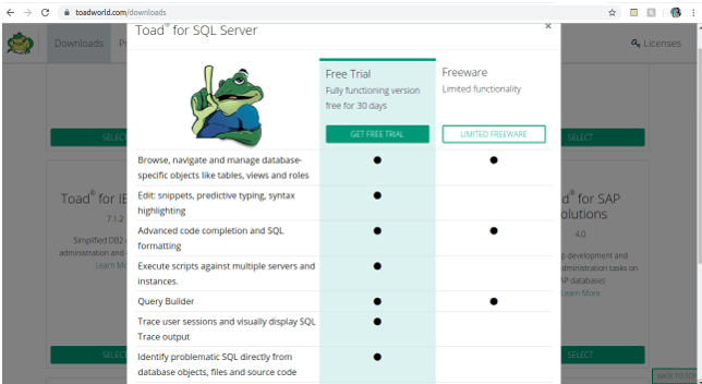 Toad for MySQL 2