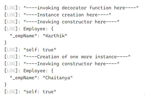 TypeScript Decorators 1