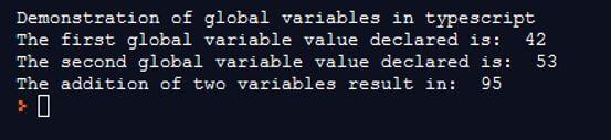 TypeScript Global Variable 1