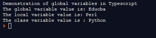 TypeScript Global Variable 2