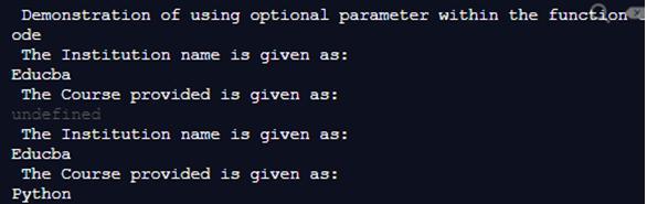 TypeScript Optional Parameters-1.3