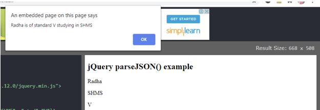 jQuery JSON Encode 1