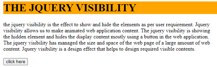 jQuery Visibility-1.2