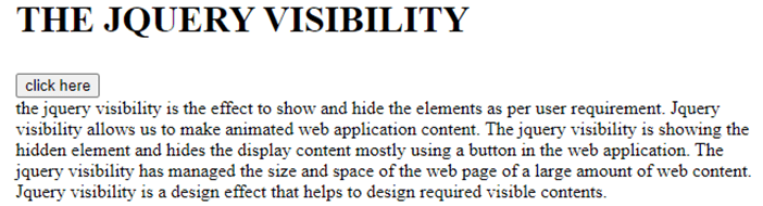 jQuery Visibility-1.3