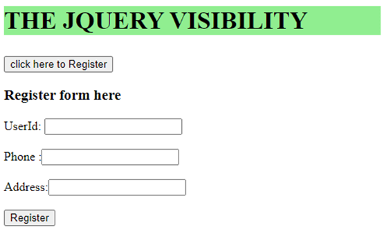jQuery Visibility-1.6