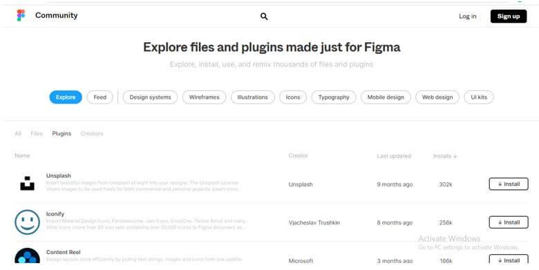 number of list of plugins