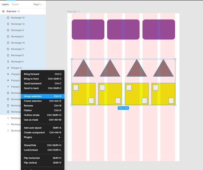 Figma grid output 12