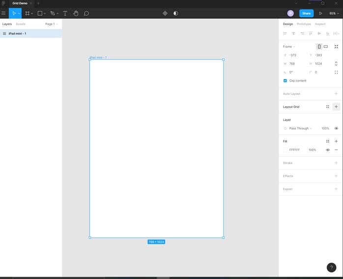 Figma grid output 2