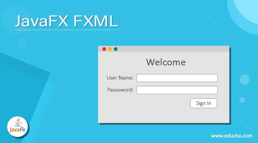 JavaFX FXML