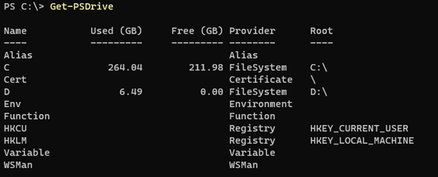 PowerShell change directory output 3