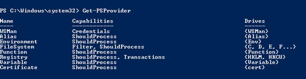 PowerShell set environment variable output 3