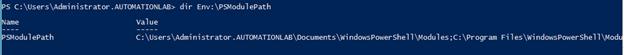 PowerShell set environment variable output 4
