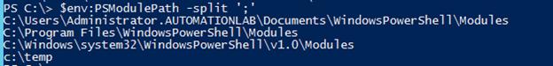 PowerShell set environment variable output 6