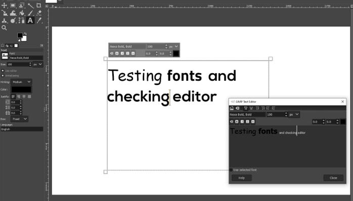 testing fonts 2