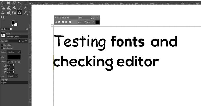 testing fonts 3