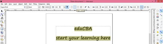 Inkscape text output 13
