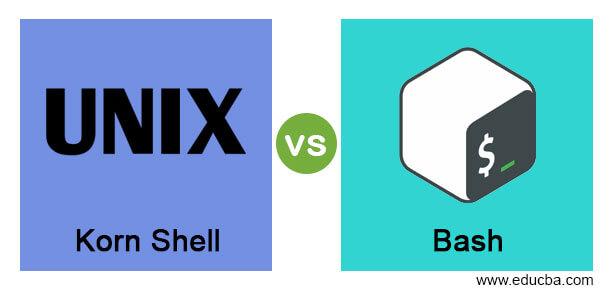 Korn Shell vs Bash