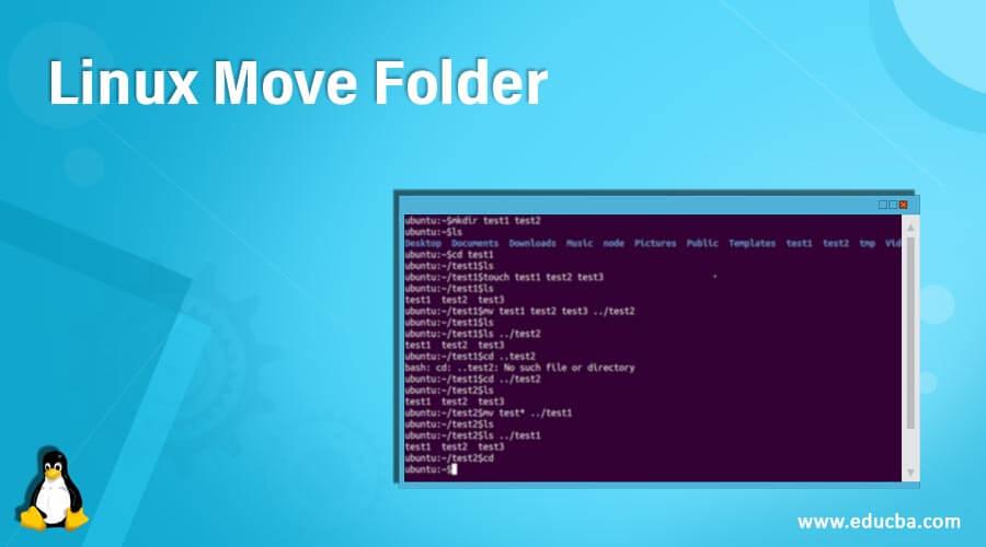 Linux Move Folder