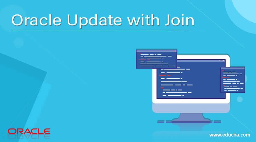 Oracle Update with Join