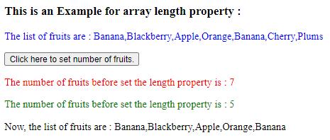 jQuery array length output 2.2