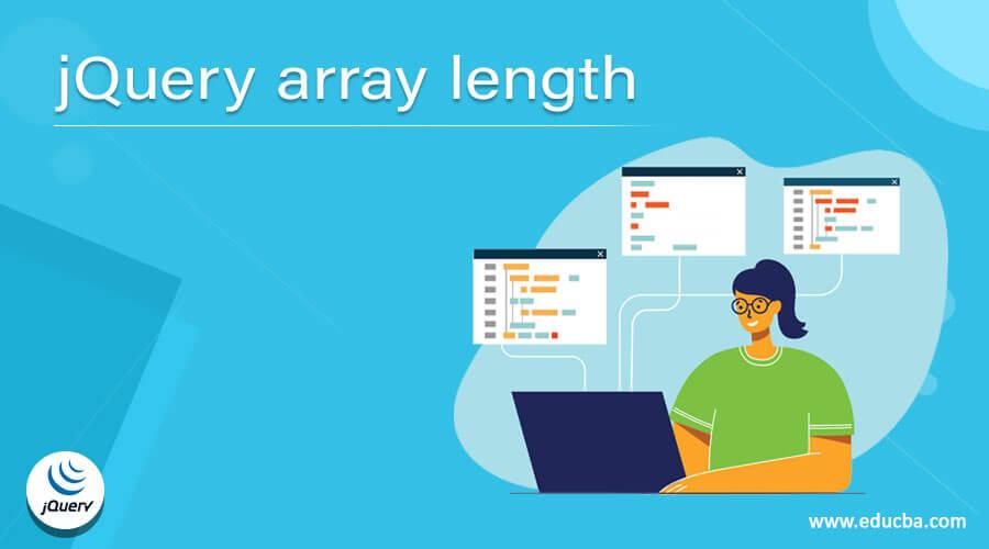 jQuery array length