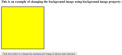 jQuery background image output 1