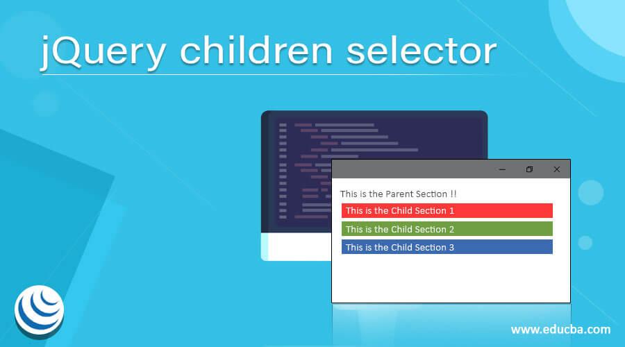 jQuery children selector