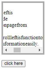 jQuery scrollLeft 4