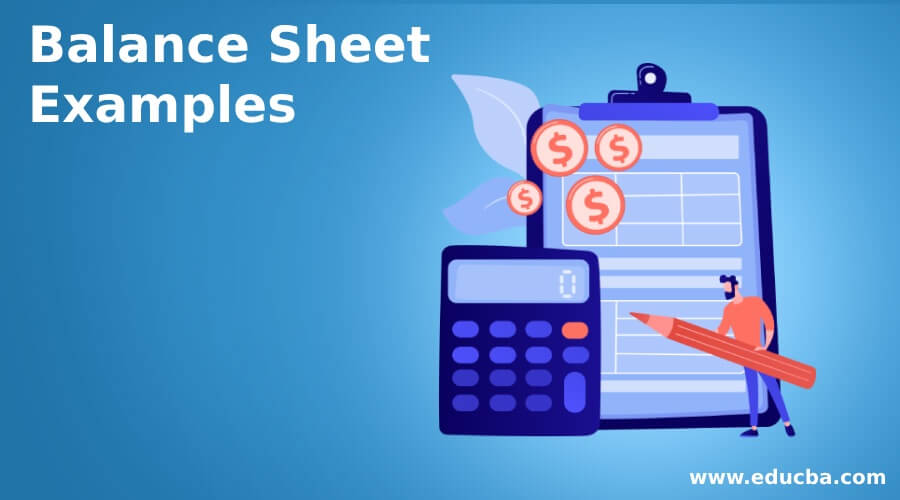 Balance Sheet Examples