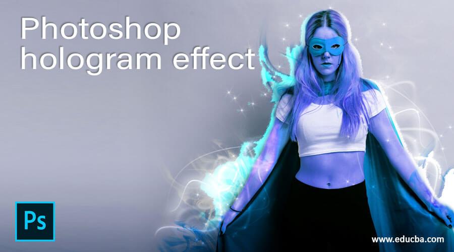 Photoshop hologram effect