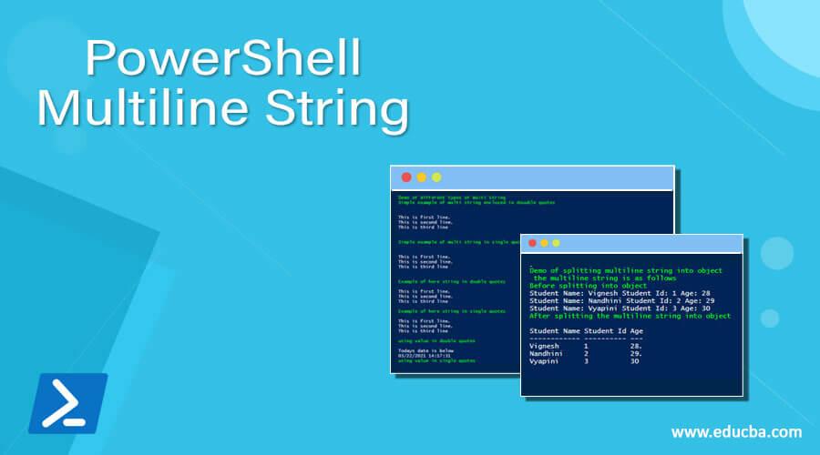 PowerShell Multiline String