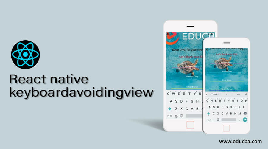 React native keyboardavoidingview