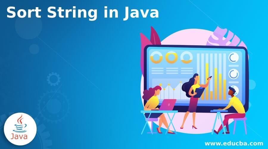 Sort String in Java