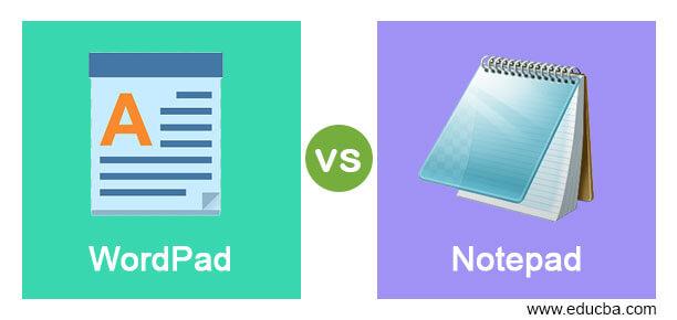 WordPad vs Notepad