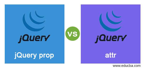 jQueryprop vs attr