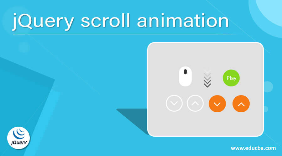 jQuery scroll animation
