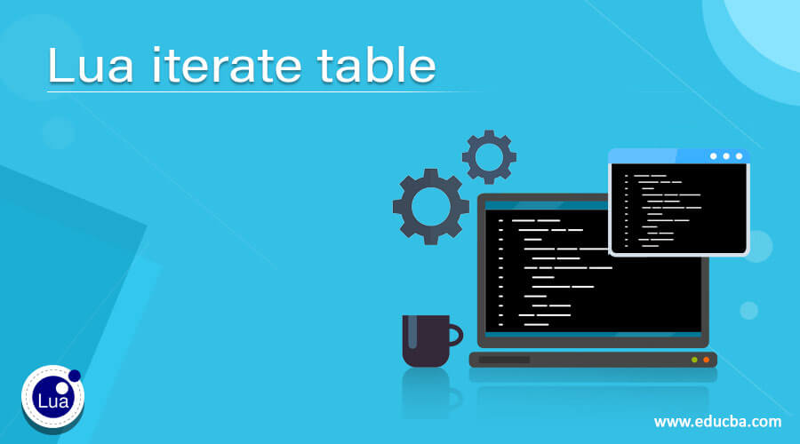 Lua iterate table